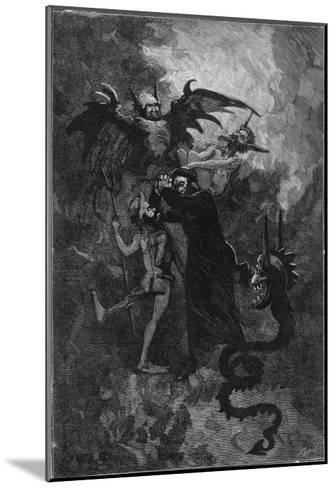 Pere Surin, Sent to Exorcise the Demons Plaguing the Nuns of Saint-Ursule--Mounted Giclee Print