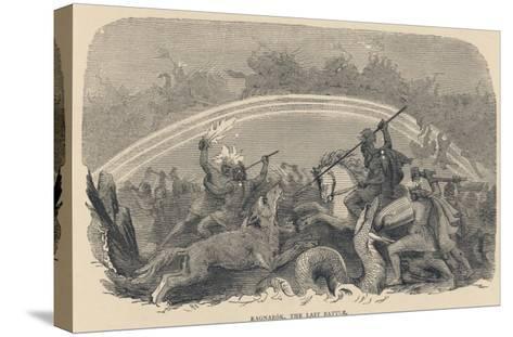 Ragnarok the Last Battle--Stretched Canvas Print