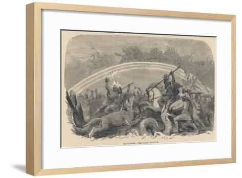 Ragnarok the Last Battle--Framed Art Print
