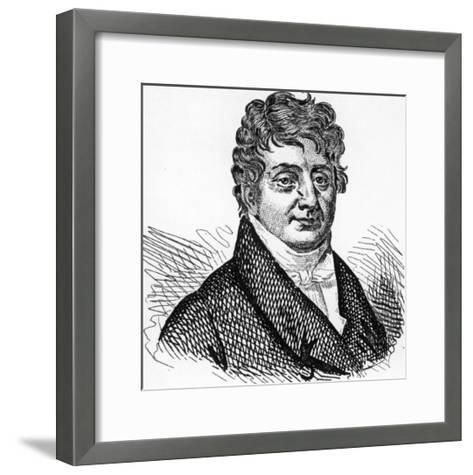 Francois-Marie-Charles Fourier French Social Theorist--Framed Art Print