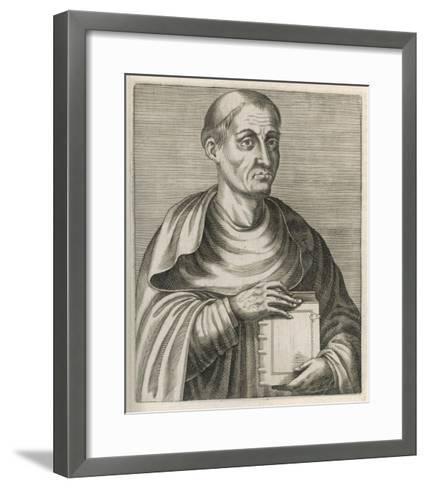 Hugh of Saint Victor Saxon or Flemish Theologian and Mystic--Framed Art Print