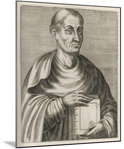 Hugh of Saint Victor Saxon or Flemish Theologian and Mystic--Mounted Giclee Print