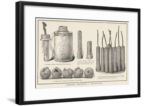 Chicago Anarchist Bombs--Framed Art Print
