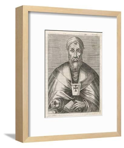 Saint Ambrose Bishop of Milan--Framed Art Print