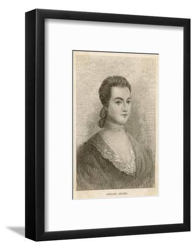 Abigail Adams Nee Smith--Framed Art Print