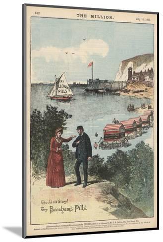 Beecham's Pills, for Saving Life--Mounted Giclee Print
