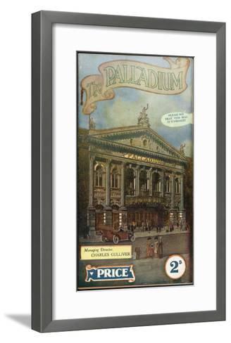 The London Palladium--Framed Art Print