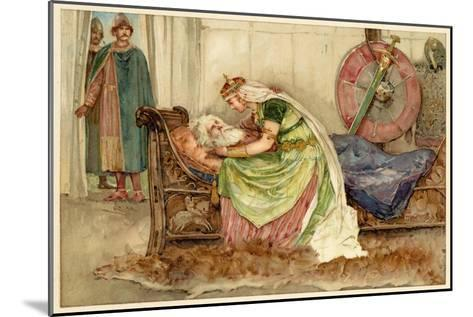 King Lear, Act IV Scene VII: Cordelia to Lear--Mounted Giclee Print