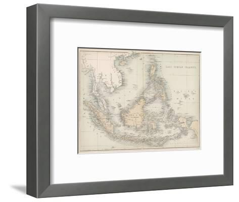 Map of the East India Islands--Framed Art Print
