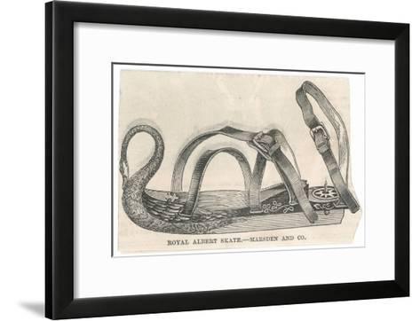 Royal Albert Skate by Marsden and Company--Framed Art Print