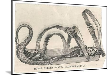 Royal Albert Skate by Marsden and Company--Mounted Giclee Print