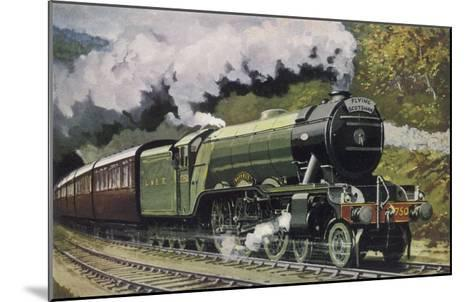 """The London and North Eastern Railway's """"Flying Scotsman"""" Express--Mounted Giclee Print"""