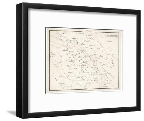 Stars Visible in Great Britain--Framed Art Print