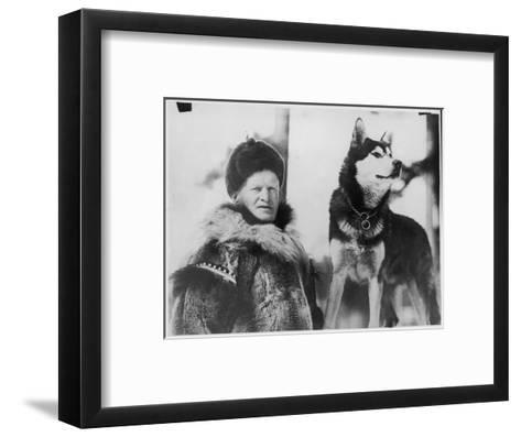 Alec Allan Scotsman Best Known for Training Sled-Dogs for Work and Racing--Framed Art Print