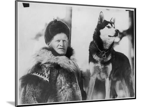 Alec Allan Scotsman Best Known for Training Sled-Dogs for Work and Racing--Mounted Giclee Print