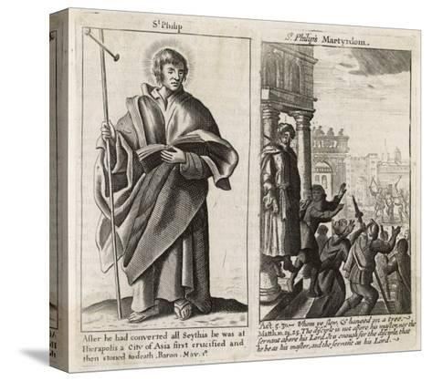 Saint Philip the Apostle Though Chosen by Jesus in Person Little is Known About This Philip--Stretched Canvas Print