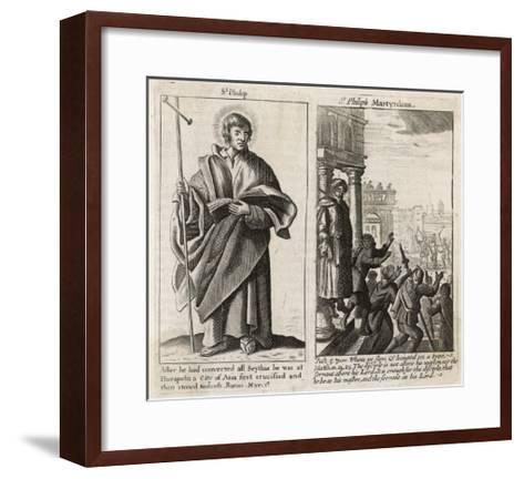 Saint Philip the Apostle Though Chosen by Jesus in Person Little is Known About This Philip--Framed Art Print