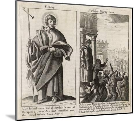 Saint Philip the Apostle Though Chosen by Jesus in Person Little is Known About This Philip--Mounted Giclee Print