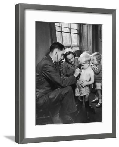 Medical Examination 1940--Framed Art Print