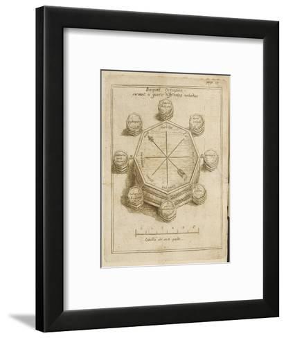 Mesmer Baquet--Framed Art Print