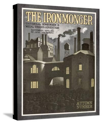 The Ironmonger Factory Exterior--Stretched Canvas Print