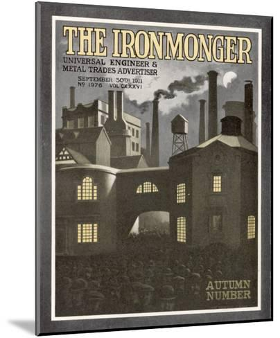 The Ironmonger Factory Exterior--Mounted Giclee Print