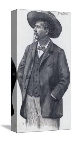 Frederic Mistral Provencal Writer Nobel Prizewinner--Stretched Canvas Print