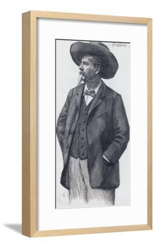 Frederic Mistral Provencal Writer Nobel Prizewinner--Framed Art Print