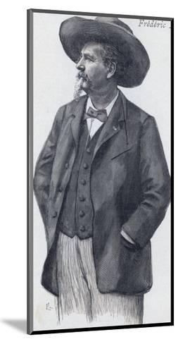 Frederic Mistral Provencal Writer Nobel Prizewinner--Mounted Giclee Print