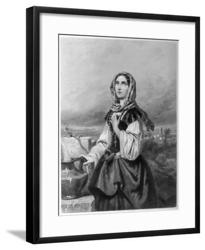 Saint Rosa di Lima Mystic--Framed Art Print