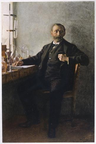 Alfred Nobel Swedish Inventor Manufacturer and Prize-Giver--Stretched Canvas Print