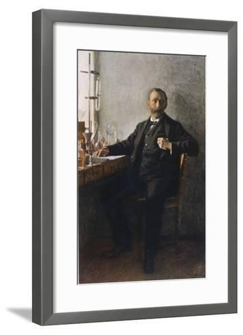 Alfred Nobel Swedish Inventor Manufacturer and Prize-Giver--Framed Art Print