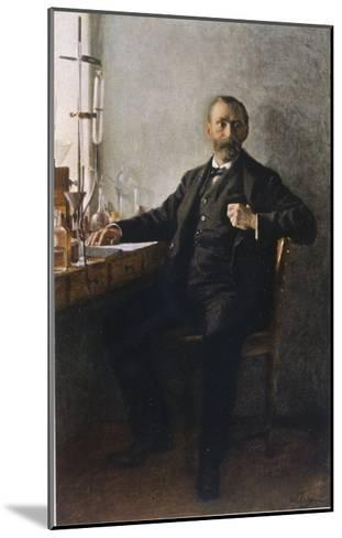 Alfred Nobel Swedish Inventor Manufacturer and Prize-Giver--Mounted Giclee Print