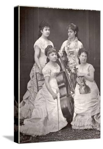 Quatuor Sainte-Cecile French String Quartet, Dosne, Meria-Mussa, Galatsin, Marie Tayau--Stretched Canvas Print