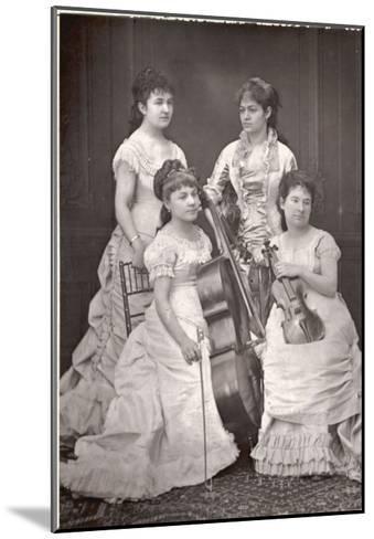 Quatuor Sainte-Cecile French String Quartet, Dosne, Meria-Mussa, Galatsin, Marie Tayau--Mounted Giclee Print