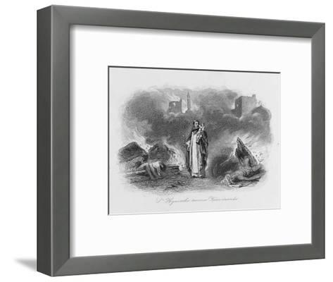 Hyacinth Siberian Saint--Framed Art Print