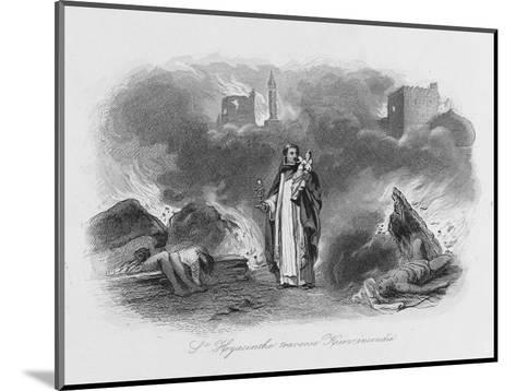 Hyacinth Siberian Saint--Mounted Giclee Print