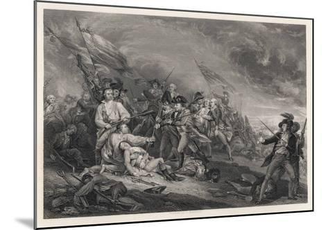 Battle of Bunker Hill-John Trumbull-Mounted Giclee Print