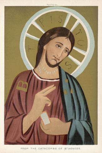 Jesus of Nazareth--Stretched Canvas Print