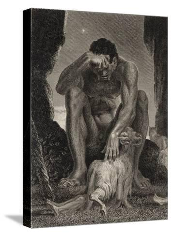 Polyphemus the Cyclops-T.g. Walker-Stretched Canvas Print