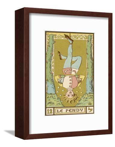 Tarot: 12 Le Pendu, The Hanged Man-Oswald Wirth-Framed Art Print