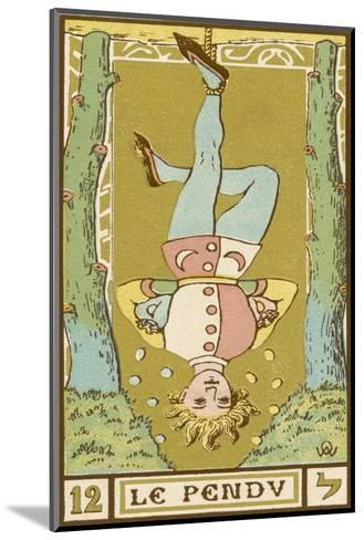 Tarot: 12 Le Pendu, The Hanged Man-Oswald Wirth-Mounted Giclee Print