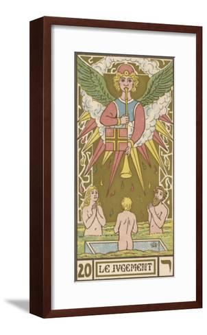 Tarot: 20 Le Jugement, The Judgment-Oswald Wirth-Framed Art Print