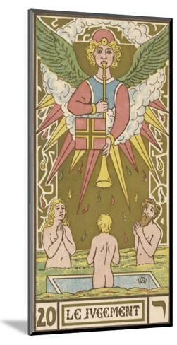 Tarot: 20 Le Jugement, The Judgment-Oswald Wirth-Mounted Giclee Print