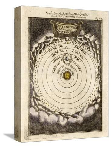 The Solar System According to Copernicus--Stretched Canvas Print