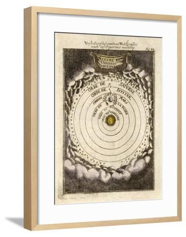 The Solar System According to Copernicus--Framed Art Print