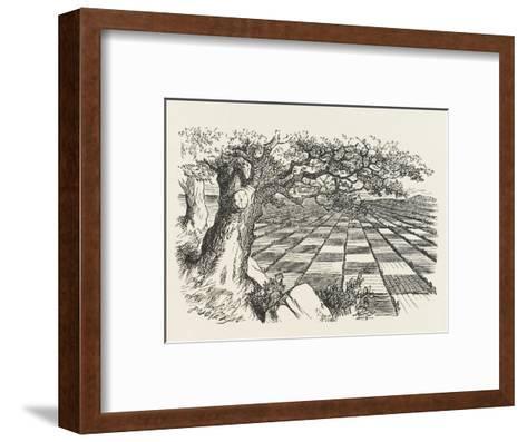 Looking Glass Country-John Tenniel-Framed Art Print