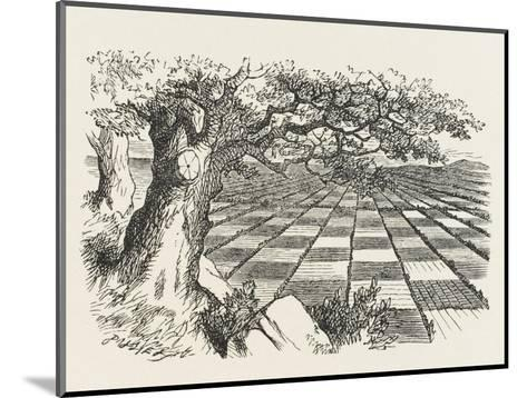 Looking Glass Country-John Tenniel-Mounted Giclee Print