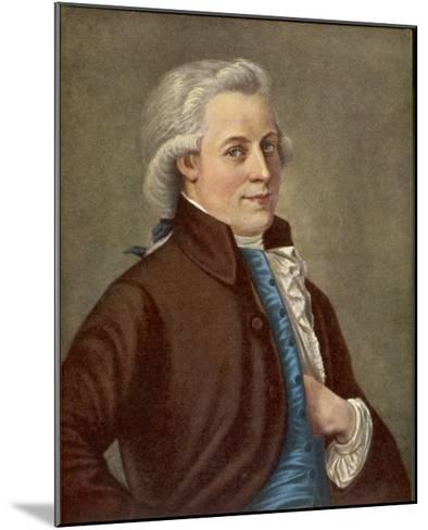 Wolfgang Amadeus Mozart Austrian Composer-Tischbein-Mounted Giclee Print