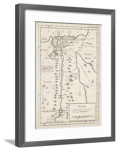 Egypt as Described by Herodotus--Framed Art Print
